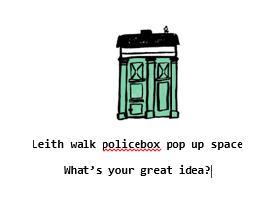 leith walk police box logo